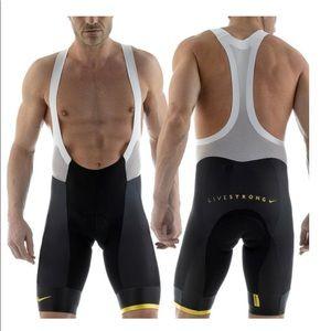 Nike Livestrong Cycling Bib Size L